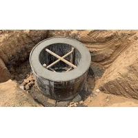 直径1500混凝土圆形检查井模板 沉井模板