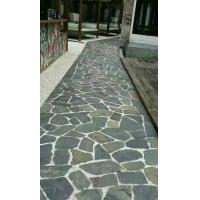 青石板 乱板 天然板岩文化石 园林路面石