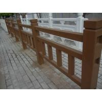 西安河道景觀園林仿木欄桿生產,水泥仿木欄桿專業施工隊