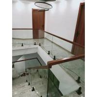 玻璃护栏-南京实木楼梯-爱步楼梯