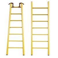 电工玻璃钢绝缘升降梯 绝缘梯伸缩单梯