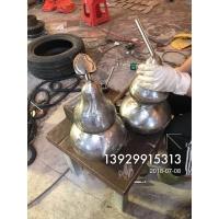 小型不锈钢葫芦雕塑摆件 手工锻打造型件