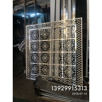 广州各种不锈钢屏风生产厂家制作细节图拍照