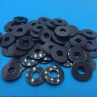 自润滑POM平垫圈耐磨尼龙塑胶垫圈黑色绝缘垫片