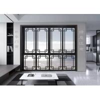 定制中式铝合金仿古门窗四合院别墅会所复古门窗