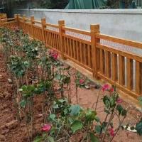 江西水泥仿木欄桿仿木3-8型防護欄