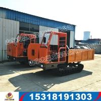 工程履帶運輸車 農用履帶運輸車廠家 沼澤地履帶式自卸車