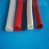 耐高溫金屬包邊條鋼板展架硅膠密封條