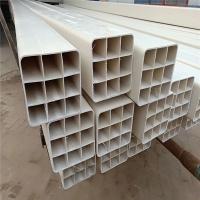 抗冲击耐腐蚀pvc管材 107多孔通讯管 市政多孔格栅管