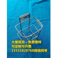 304医院用不锈钢小推车挂篮病床固定装载篮筐护理车挂筐