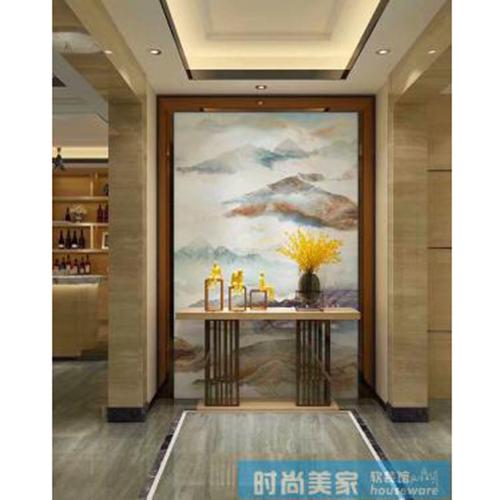 时尚美家软装馆 壁画设计shmj-5236