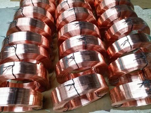 紫銅扁線 導軌條T2紫銅扁線 0.6*2.8導電紅銅扁線-- 洛銅