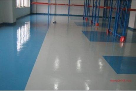 地坪材料的生产