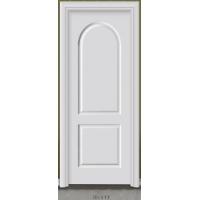 白色开放漆实木门|白色室内门|原木门
