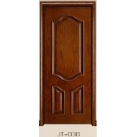 实木贴皮门 红橡木门 工艺实木复合门 烤漆室内门