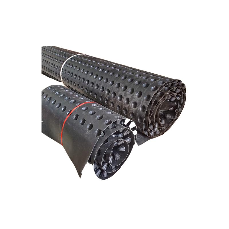 塑料凹凸型排水板 直销防水卷材车库顶板地下室专用 加工定