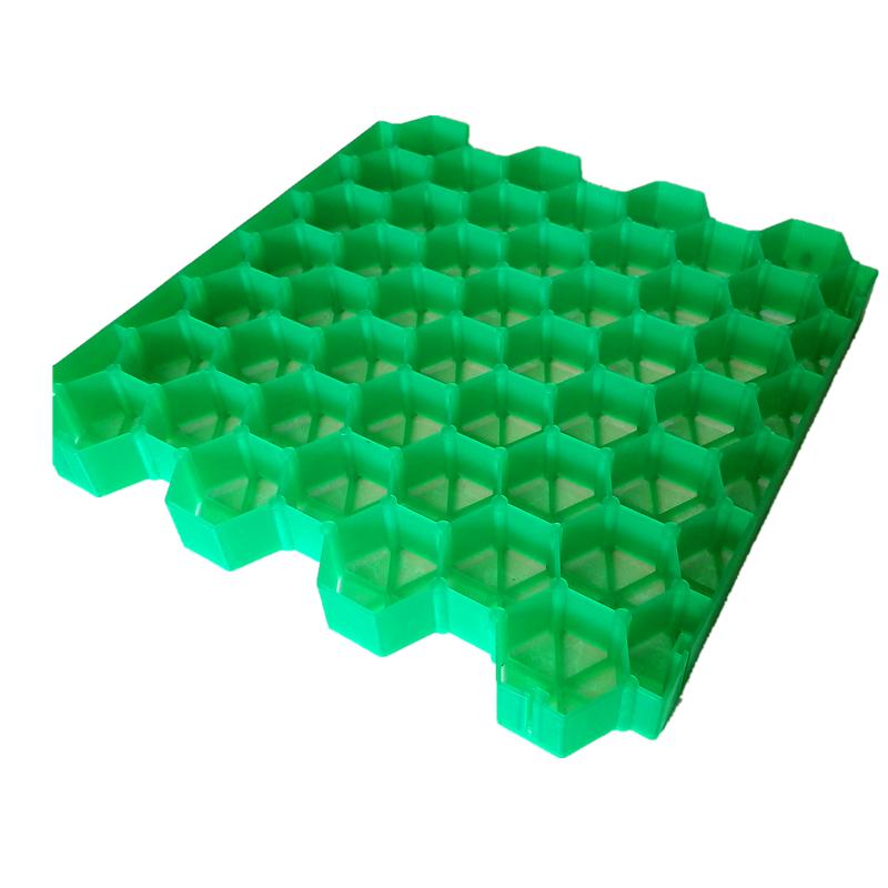 停车场绿化专用塑料植草格直销 绿色护坡植草格定制 价格优惠