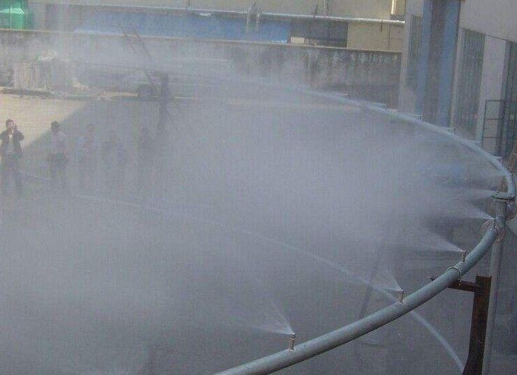 煤矿堆棚降尘喷雾上门设计安装经济实惠