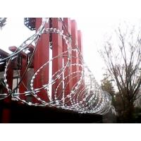 刀片刺丝网,双螺旋刀片防爬网,不锈钢镀锌喷塑刀片网