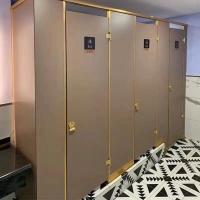 学校写字楼酒店公共厕所隔板卫生间防水隔断小便池挡板分隔板防潮