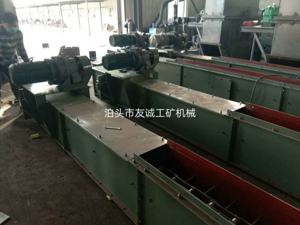 山东济宁刮板输送机水平输送直销 刮板输送机价格 - 中国供应商