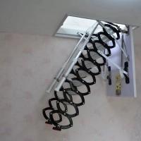 山东阁楼楼梯 室内伸缩楼梯 阁楼折叠梯