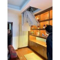 河南阁楼伸缩楼梯 室内加层阁楼楼梯