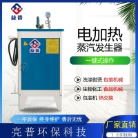 亮普12kw电加热蒸汽发生器