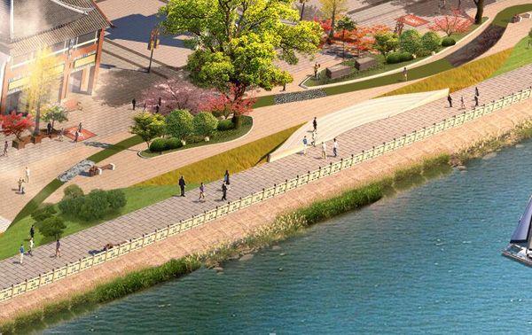 重庆景观设计/人文景观设计/滨江路景观设计