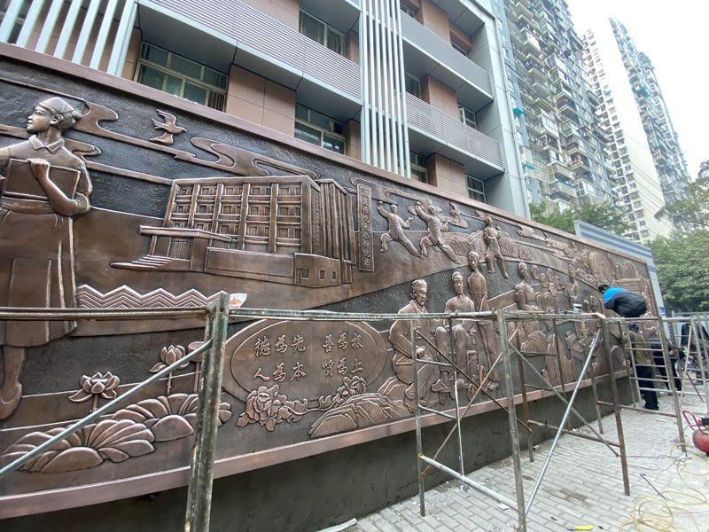 墙面浮雕/医院浮雕/大型浮雕墙/贵州浮雕