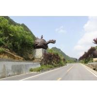 贵州茶壶雕塑/景区地标雕塑设计/贵州景区雕塑