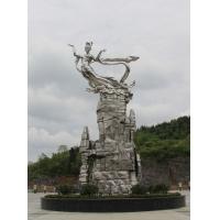重庆雕塑厂家/景区仙女雕塑设计/重庆雕塑公司