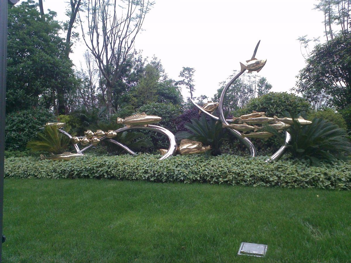 小区景观雕塑/小区动物雕塑/地产公司雕塑