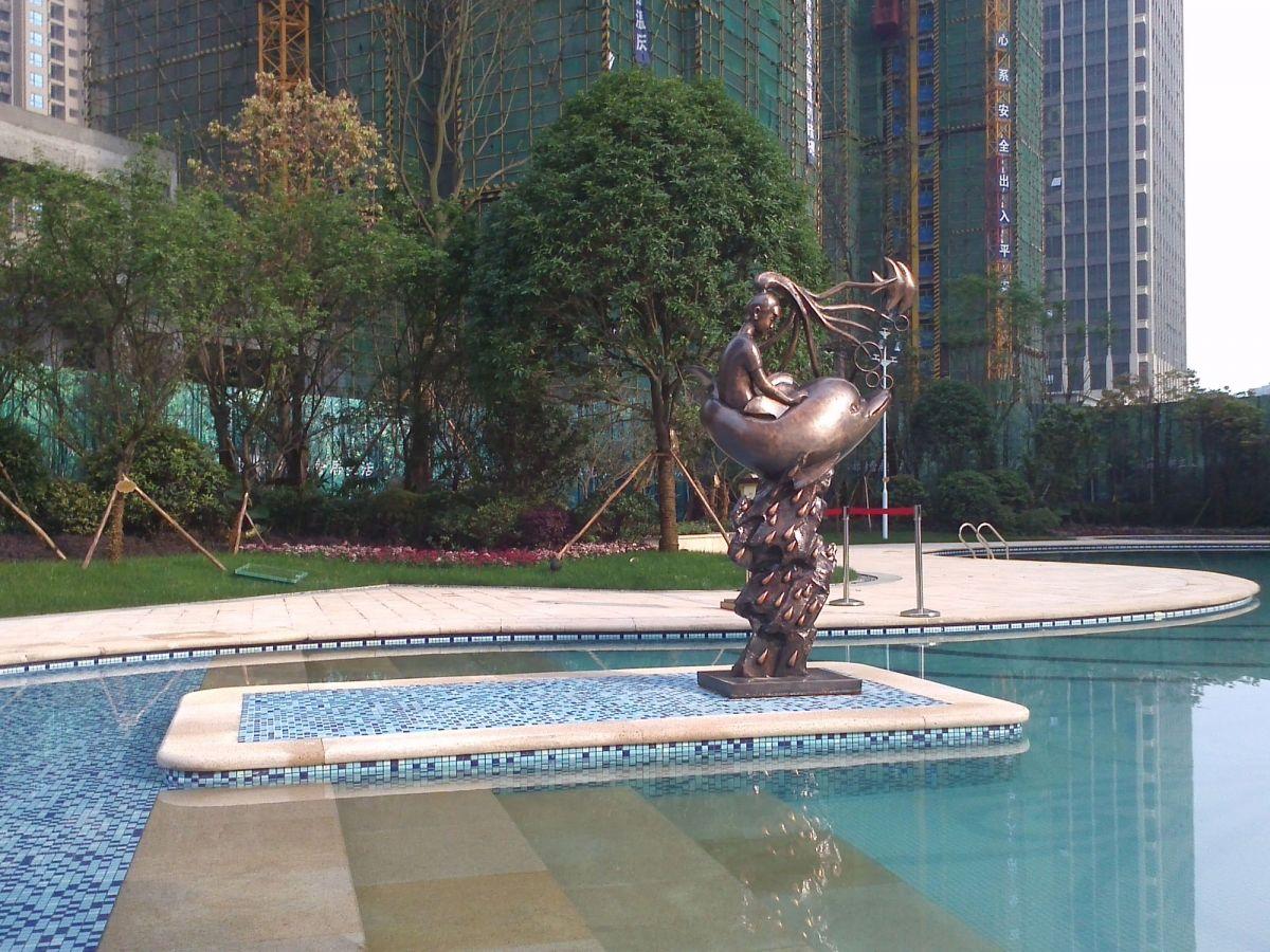 贵州景观雕塑/小区雕塑图片/地产雕塑图片