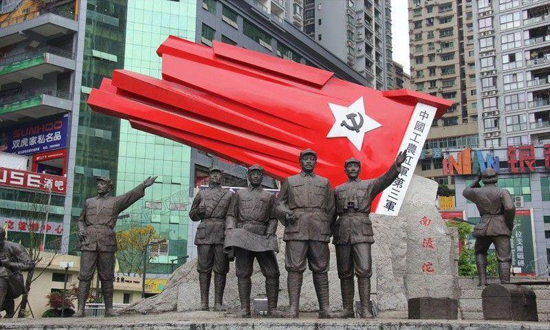 红色文化主题雕塑——弘扬历史文化传承革命精神
