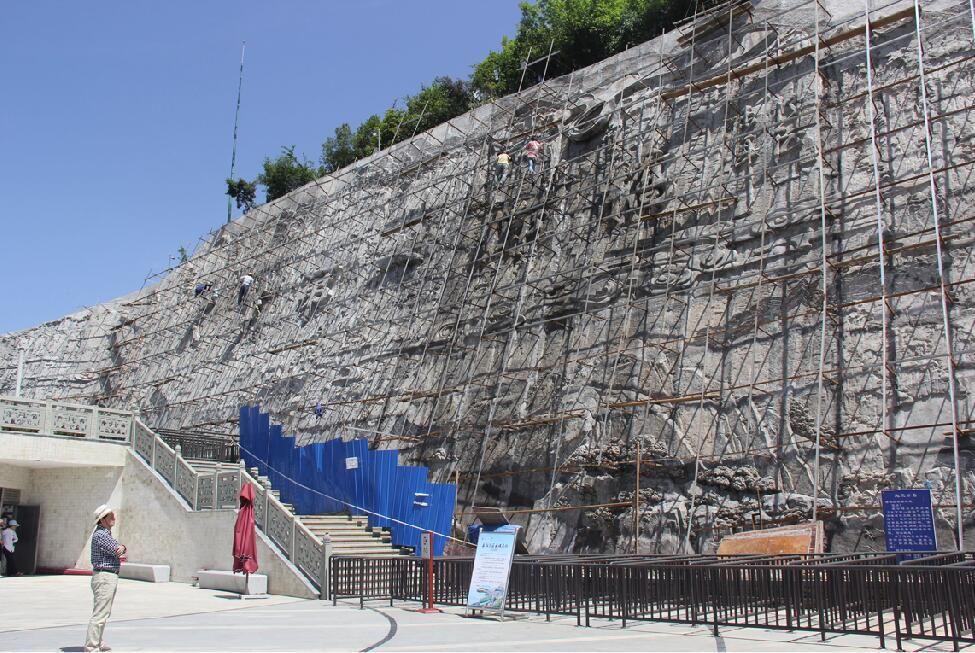 重庆GRC浮雕/重庆重庆水泥雕塑厂家/重庆水泥浮雕
