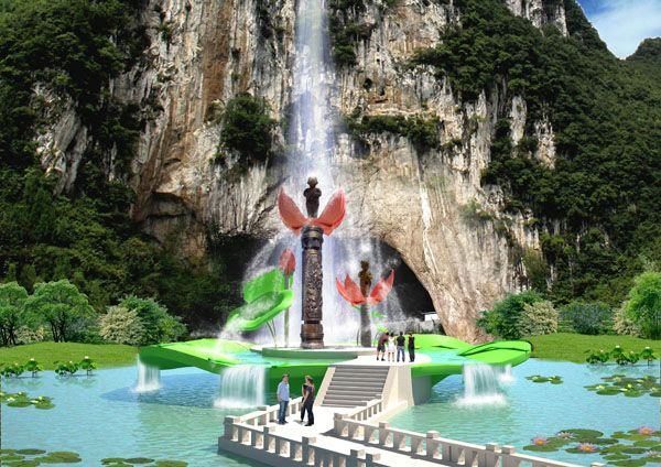 艺术景观设计/景观艺术公司/四川艺术景观设计