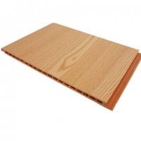 南京竹木纤维护墙板-南京博骏护墙板-木纹系列-金橡木
