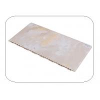 南京竹木纤维护墙板-南京博骏护墙板-石纹系列-300白冰玉
