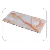 南京竹木纤维护墙板-南京博骏护墙板-石纹系列-300红冰玉