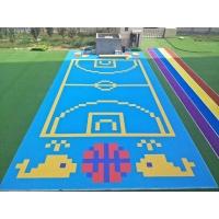 山西运城幼儿园悬浮地板室外小米格拼装系列