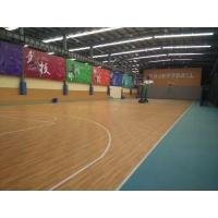 福建篮球场地胶PVC运动地板材质