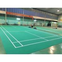 山东PVC塑胶地板羽毛球规格
