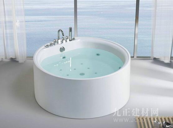 圆形浴缸装修效果图4