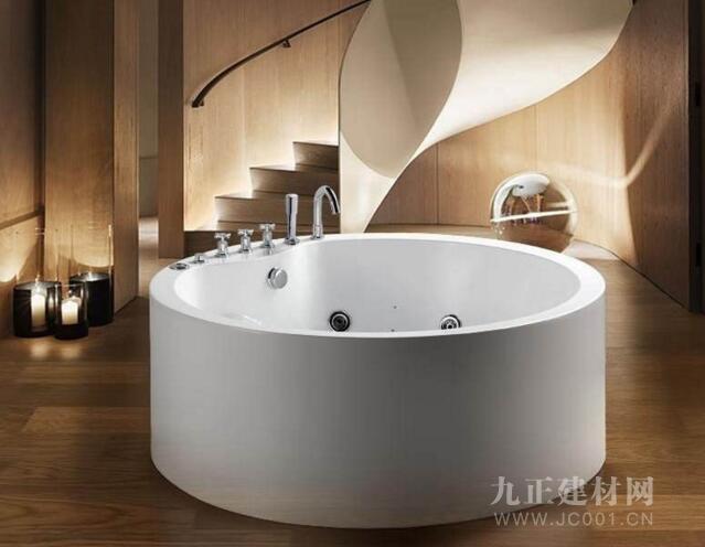 圆形浴缸装修效果图6