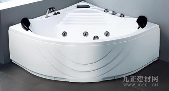 三角形浴缸
