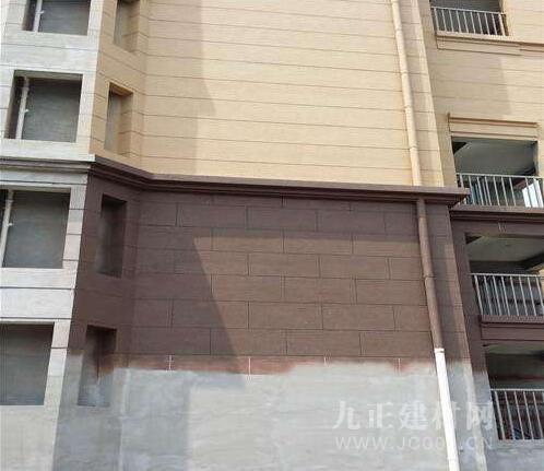 真石漆外墙效果图1