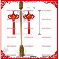 400南瓜灯笼led户外灯笼2.3米  结挂路灯灯杆上led