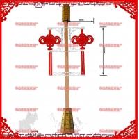 明月型灯笼结led 广告灯箱红灯笼塑料外壳  红灯