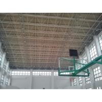 上海体育场馆螺栓球形网架结构屋面,大跨度网架设计安装